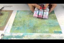 PaperArtsy chalk technieks