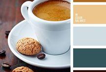 Paleta kolorów - cafe