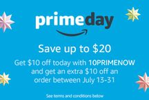 Amazon Prime Day / Get Amazon Prime day deals. coupons.