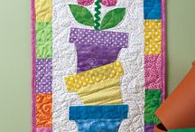 Quilted wallhangings