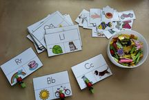 Language & Literacy / For use in my kindergarten classroom / by Sara Anne Culberson