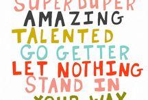 Tween Typography Inspiration
