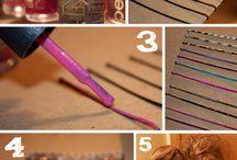 Handmade Accessories Tutorials / How to make own accessories.