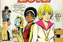 Romance Comics / Vintage heartbreak and drama; classic hairstyles and cover art.