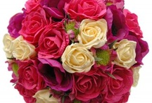 Bridal Bouquets / Bridal wedding bouquets from artificial and silk wedding flower specialists Sarah's flowers.
