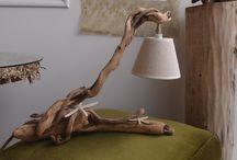 driftwood Lamp diy..πορτατίφ φωτιστικά θαλασσόξυλα / driftwood Lamp diy..πορτατίφ θαλασσόξυλα (ξύλα θάλασσας)