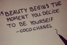 Inspiration - You are Beautiful / Beauty comes from within, be inspired...