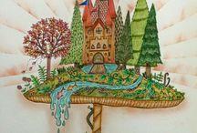 mushroom castle#enchanted forest