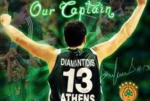 Panathinaikos BC / Pins about basketball