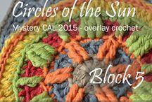 Mystery CAL 2015 - overlay crochet