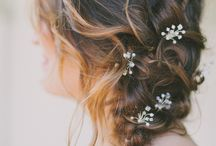 Bridal hairstyling for Greek wedding / wedding hairstyling ideas