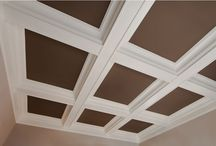 Ceiling Moulding / Gorgeous ceiling moulding applications.