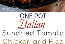 Sundried tomato chicken
