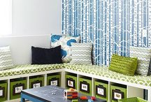 Organizing the Playroom / Ideas for children's playrooms