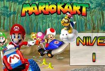 Mário Kart (SNES) / Super Mario Kart é um jogo eletrônico de corrida com personagens da série Mario lançado em 1992 para o Super Nintendo. Foi relançado em 1996 como Player's Choice e em 2009 para o Virtual Console do Nintendo Wii. Foi o primeiro jogo de corrida da série Mario Kart, que acabou tornando-se uma das séries mais famosas da Nintendo.