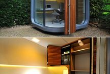 PREFABulous / PreFab, modular & inspirational offices, meeting spaces, working environments, resting pods, play spaces - indoor & out.
