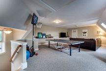 Traditional Game Room Design