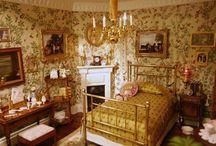 Victorian bed room