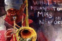 Play a musical instrument(楽器を奏でる) / 楽器や演奏風景や絵などかっこいいモノ集合