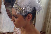 Noivas e seus looks especiais. / Penteados para grandes ocasiões.
