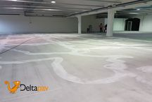 #Deltapav | Concessionaria Auto / Ecco la ristrutturazione di una #pavimentazione industriale con rivestimento sintetico resinoso con barriera al vapore e multistrato ad elevate resistenze meccaniche, chimiche e U.V. #pavimentazioneindustriale #resina #teamdeltapav