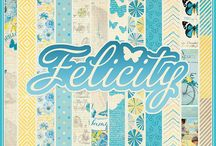 Felicity Collection / by Authentique Paper