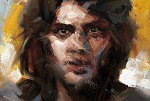 Schilderen portret