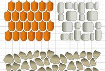 Текстуры и орнамент для панелей