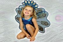 Halloween Costumes for Kids / Turn your gymnastics leotard into an adorable Halloween costume for your little gymnast!