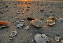 Avond strand
