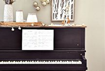 Decorating the piano