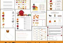 Fall Printables / Printables you can use in the fall. Halloween printables, fall printables, Thanksgiving printables, and more!