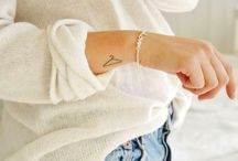 Feminine Tattoo Ideas / Feminine Tattoos  |  Feminine Tattoo Ideas  |  Cute Tattoos  |  Girly Tattoos