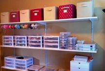 Craft Room Organization  / by LetsPartyMagazine.com