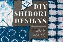 Fabric dyeing & Shibori