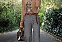 look pantalon large