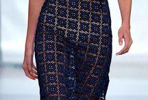 Crochet skirts and dresses