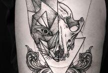 Artsy tattoos
