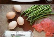 Smoked Salmon Omlet.