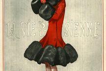 Deco Fashion Illustration