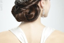 Noivas - penteados