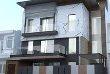 house elevation design indian