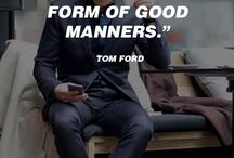 Manners make the man
