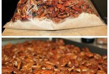 An incredibly easy recipe for candied pecans, perfect for holiday snacking