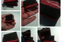 minyatür kitap DIY