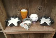 COTTONWOOD CANDLES / Handpoured, scented, soy candles poured into ranch-rustic, reusable containers for an added charm.  Every piece has a story to tell!