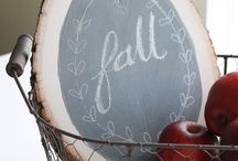 { Chalkboard } / Chalkboard Ideas for Crafts in the Home (http://www.alifeinbalance.net / by Barb Hoyer: A Life in Balance