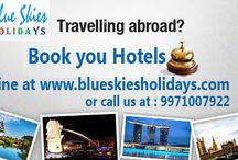 Hotel Accomodation / Book your Hotel at best rates with Blue Skies Holidays.