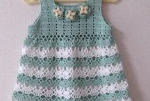 Crochet - Baby Clothes / Crochet dresses, sweaters, etc. for babies and children