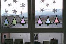 Fenstergestaltung Kita